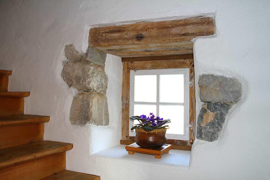 liebevolle renovierung eines goiserer hauses durch zebau. Black Bedroom Furniture Sets. Home Design Ideas